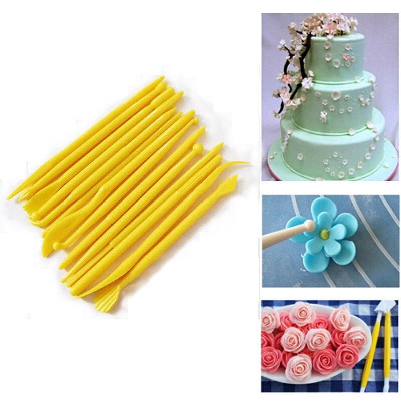14Pcs/Set food grade Non Stick Pastry Craft Cutters Fondant Cake ...