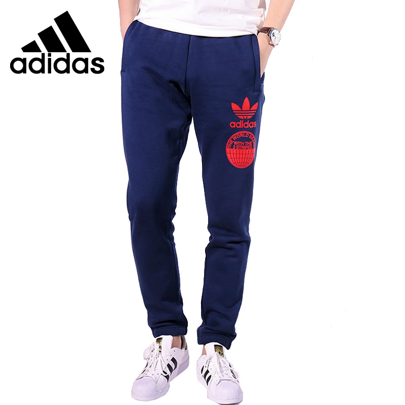 Original New Arrival 2017 Adidas Originals Men's knitted Pants Sportswear original adidas men s knitted pants s17536 spring models sportswear free shipping