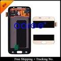 Envío libre 100% Original Para Samsung Galaxy S6 G920 G920f G920i G920A G920K LCD Asamblea de Pantalla de Oro/blanco/azul
