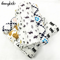 Summer 100%Muslin cotton Single layer baby towel newborn blanket baby swaddle infant wrap 120x120cm 180g