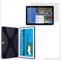 1x Écran Protecteur, de luxe X Ligne Souple En Caoutchouc de Silicone TPU Gel Shell Couverture de Cas Pour Samsung Galaxy Note Pro 12.2 P900 P901 P905