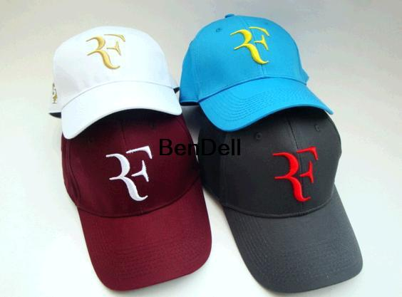Limited edition 2015 new latest foreign trade tennis Roger Federer RF  Tennis tennis hat bone cap 1PCS free shipping 6f5e0b5d6a3