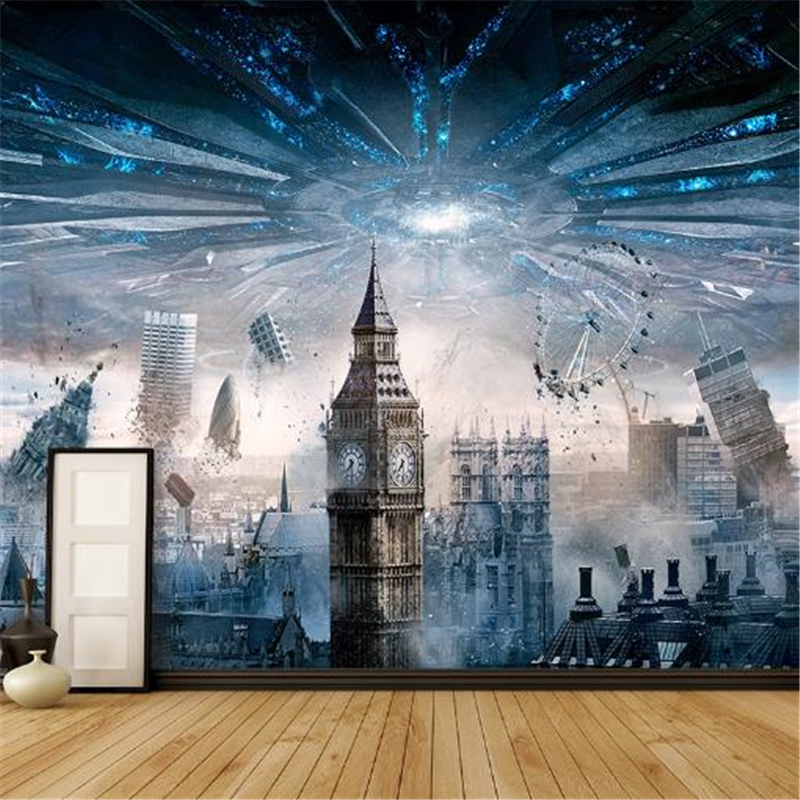 3D Photo Custom Wallpaper End Of The World Science Fiction Movie  Mural Wallpaper Home Decor Wall Paper Background Wall the jews of east central europe between the world wars paper