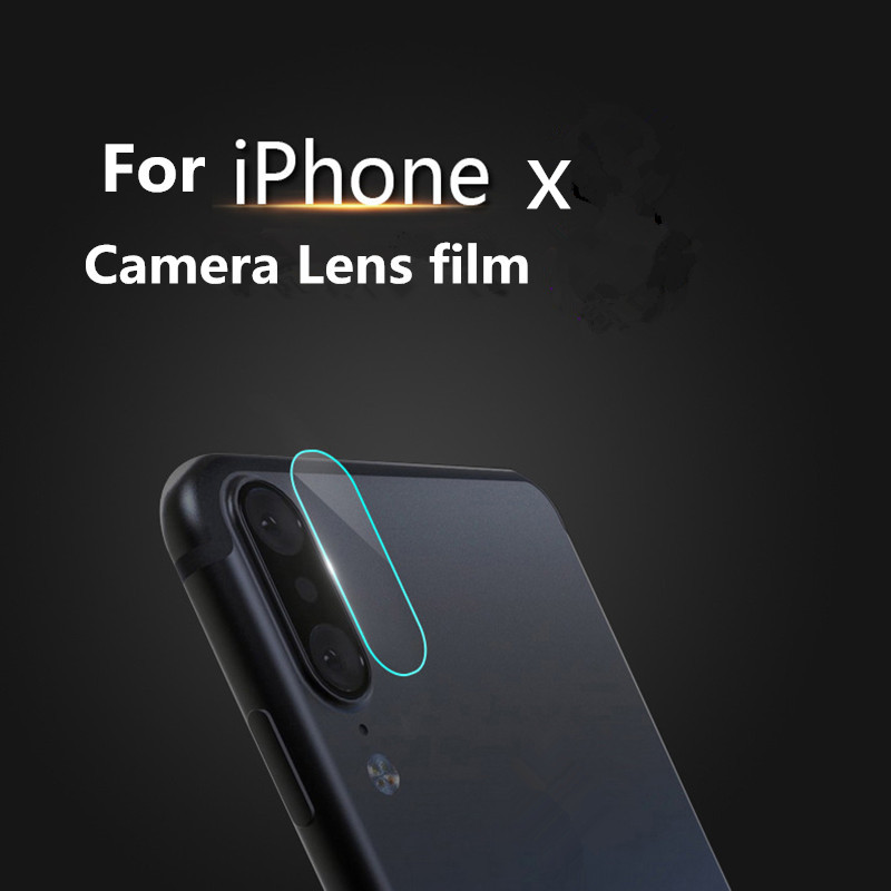 Leanonus Back Camera Lens Transparent Clear Tempered Glass For iPhone X 8 8Plus 7 7Plus 6 6S 6Plus Protector Protective Film