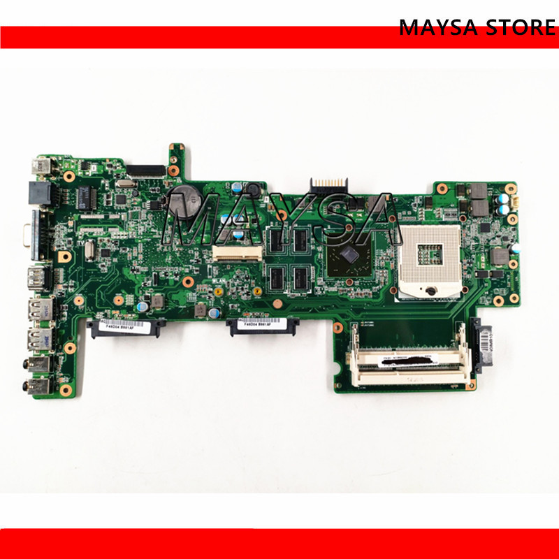 K72JT Motherboard With HD6370 Fit For ASUS K72J X72J A72J K72JT K72JU K72JR Laptop Mainboard HM55 100% Test Ok