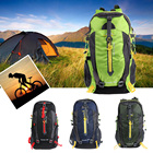 Men's Backpack 40L Unisex Waterproof Nylon Backpack for Outdoor Sports Riding Camping Travel Lightweight Outdoor Sports Bag