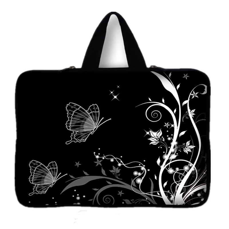15 15.6 15.5 Butterfly Laptop Notebook Bag Sleeve Case Cover For macbook Pro 15.4-inch F ...