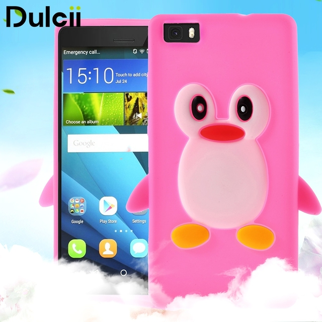 huawei p8 lite coque silicone 3d