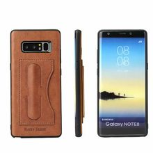 Samsung kılıfı not S 10 9 8 S10e artı çapa Fundas Etui lüks deri telefon tam geri kartı kapakları aksesuarları Coque kabuk çanta