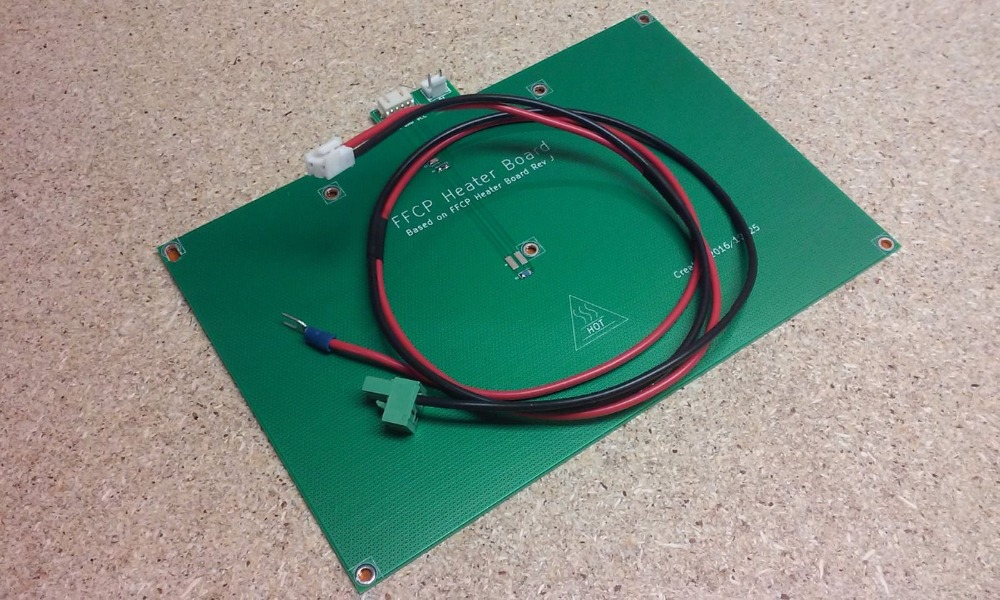 Funssor flashforge Creator pro Dreamer 3D printer replace heated bed with cable