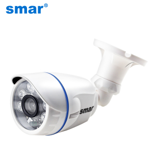 Image 1 - Smar HD1MP 2MP IP Camera Outdoor Indoor H.264 720P H.265 1080P Bullet Camera POE/External Audio Optional Security Night Vision