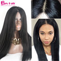 Human Hair Lace Front Wigs Glueless Virgin 4x4 Silk Top Full Lace Wigs 7A Grade Straight Unprocessed Human Hair Full Lace Wigs