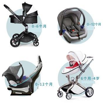 Luksuzna dječja kolica 3 u 1 s auto sjedalicom, visoko kvalitetna kolica! 1