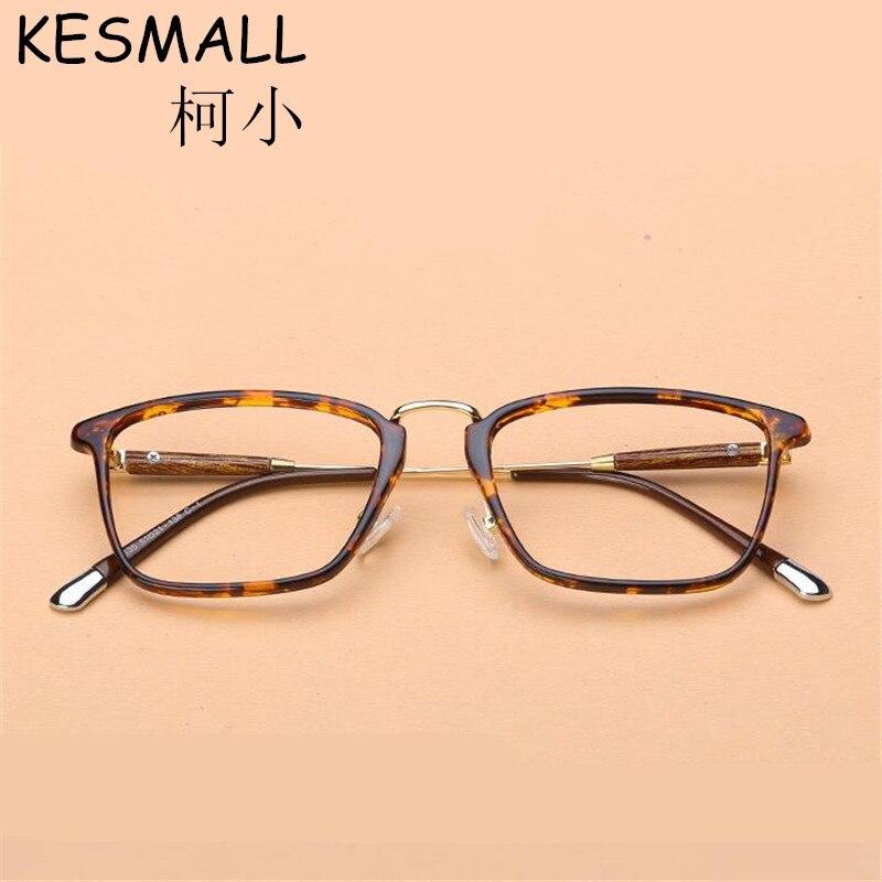 4e649d706758c 2018 Moda Vidros Ópticos Quadro Mulheres Homens Miopia Óculos Frames Do  Vintage Feminino Óculos Quadrados Enquadrar Oculos de grau YJ799
