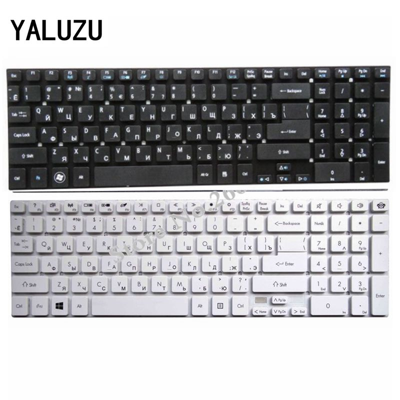 YALUZU Russian RU FOR Acer Aspire E1-570 V3-772 V3-531 V3-531G V5-561 V5-561G E1-570G V3-7710 V3-7710G V3-772G Laptop Keyboard