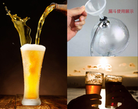 1500ml Unique Shape Glass Wine Decanter Wine Container Red Wine Dispenser Pourer Jug Liquor Carafe Barware