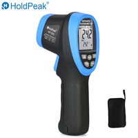 HoldPeak HP 1500 Double Laser Digital Infrared Thermometer 50~1500 Non Contact Temperature Meter Gun Laser Display Thermometer