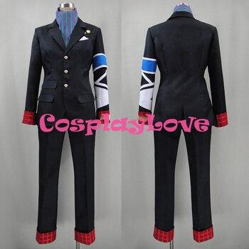 Custom Made Japanese Anime Concrete Revolutio Superhero Fantasy Konkurito Reborutio: Chojin Genso Jiro Hitoyoshi Cosplay Costume