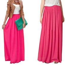 SK71 женская юбка клеш макси золотистого цвета, стиль знаменитостей, длинные юбки больших размеров, разные цвета, бесплатная прямая доставкабесплатная прямая доставка
