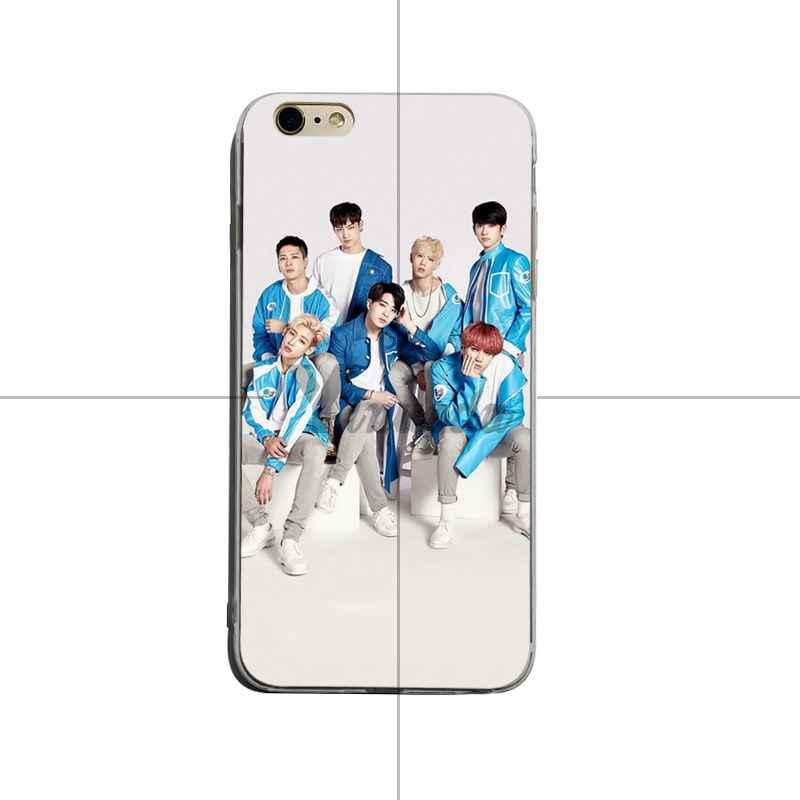 Yinuoda GOT7 บัตร Jinyoung Jackson Mark ใหม่ล่าสุด Super น่ารักโทรศัพท์กรณีสำหรับ iPhone X XS XR XsMax 8 plus 6 6 วินาที 7 7 plus Mobilecover