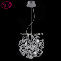Free Shipping Dia520 H1340mm Ball Design G9 Bulbs Crystal Pendant Lights Lamps For Home Chrome Color