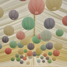 1pc 30CM Chinese Paper Lanterns Decorative Balloon Wedding Home & Festival Yard Garden Hanging Decor Fiesta Daily