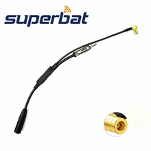 DAB Antenna Splitter Adapter SMB right angle male plug Connector Car Radio Active