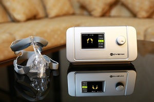 Image 2 - Moyes Bipap آلة CPAP T 25A آلة طبية معدات التنفس الصناعي مع مكافحة الشخير النوم المعونة ساعة و Wifi متصل بالإنترنت