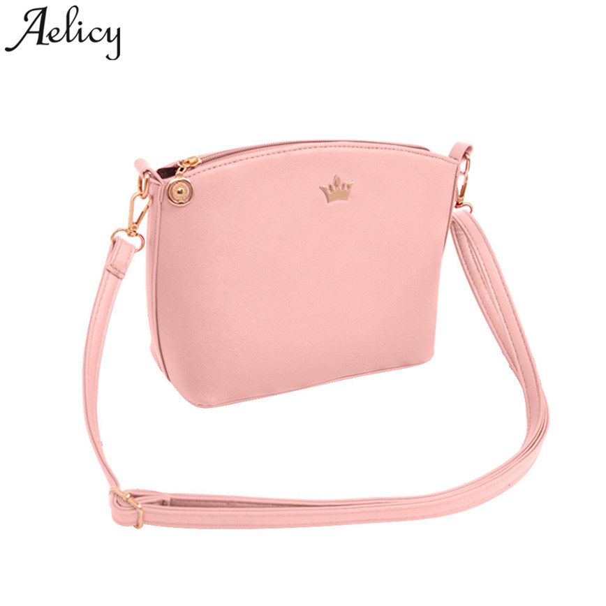 Aelicy Small Shoulder Bag Women Pu Leather Black Shell Bags Ladies Party Crossbody Bags High Quality Messager Bag Female S23