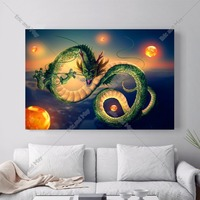 Dragon Ball Z Kai Canvas Art Print Painting Poster Wall Pictures For Home Decoration Bedroom Decor