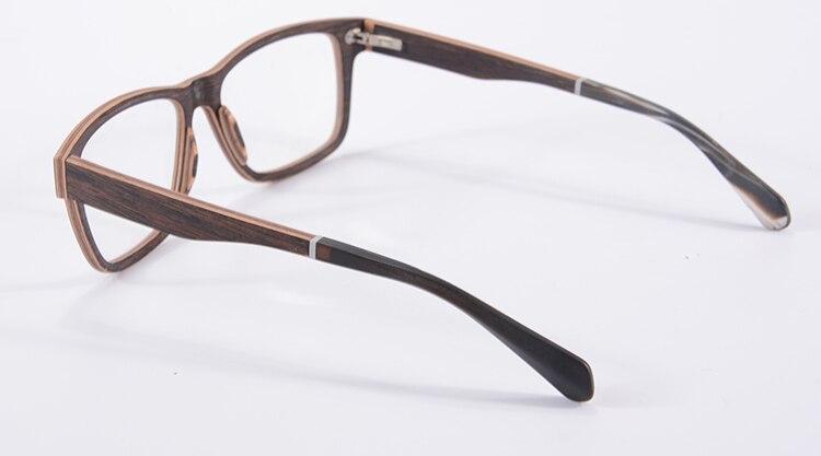 Viodream Роскошные чистые натуральные черные белые роговые ноги Polaroid Солнцезащитные очки, солнцезащитные очки без оправы ретро мужские солнце... - 4