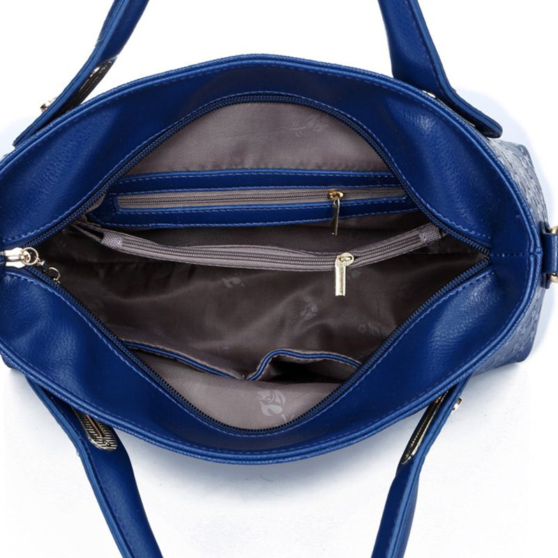 Yeetn.H Women 4 Set Handbags Pu Leather 4