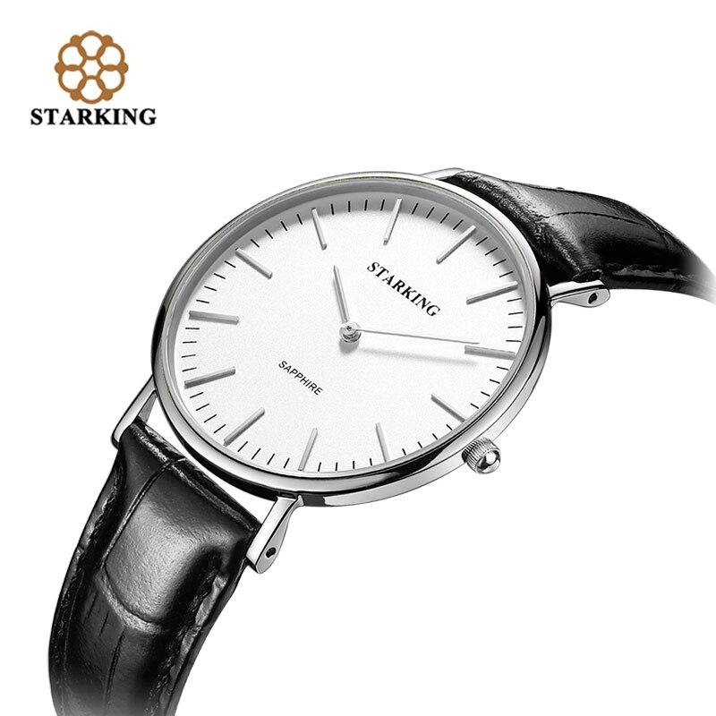 STARKING Famous Brand Women Quartz Watch Leather Strap 2017 New Women Watch Simplicity Classic Ladies Wrist Watch Zegarek BL0965