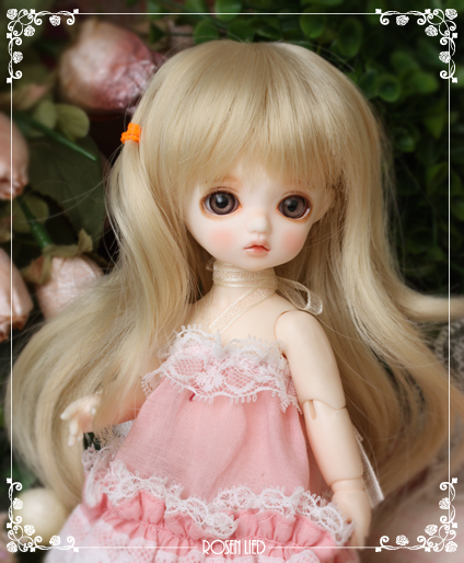 1/8 scale BJD about 15cm pop BJD/SD cute kid Rosenlied Mango Resin figure doll Model Toy gift.Not included Clothes,shoes,wig
