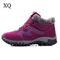Women Winter Shoes 2017 New Arrivals Faux Suede Plush Women S Boots Platform Snow Boots Ankle