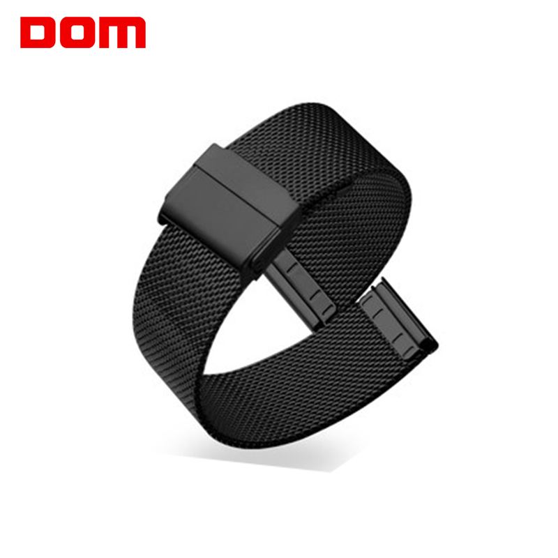 20mm Silver Black Watch Accessories Mesh Stainless Steel Bracelet Men Women Watch Strap Charm High Quality Hook Buckle Watchband high quality milan stainless steel watchband 20mm 22mm men and women black brown watch strap for breitling strap bracelet