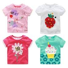 Детская одежда 2021 г Новое поступление летний топ для малышей