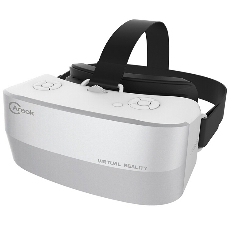 V12 Android 4.4 All-in-One 3D VR Virtual Reality Glasses Allwinner H8 Quad Core 2G 16G Support Wifi Bluetooth OTG F19631 caraok v12 android 4 4 all in one 3d vr virtual reality glasses allwinner h8 quad core 2g 16g support wifi bluetooth otg f19631