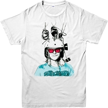 Waynes World camiseta ShirtWaynes Garth Sketch Spoof camiseta diseño  inspirado Top(China) 2d9c2130137