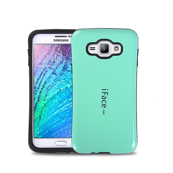 Hot candy color iFace Case Cover Samsung Galaxy J7 J7008 iFacemall Fashion Mobile Phone J7000 - Ebayshop Electronic Co., Ltd store