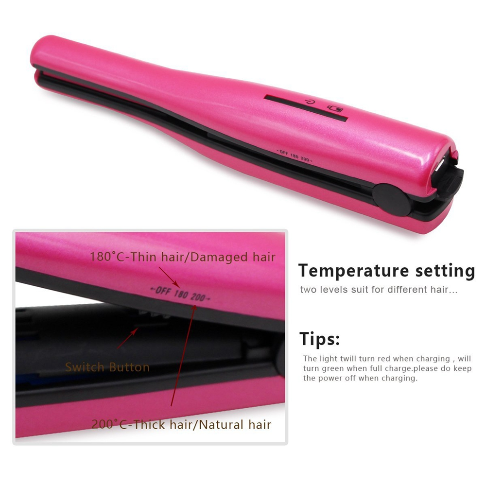 mini hair straightener 16