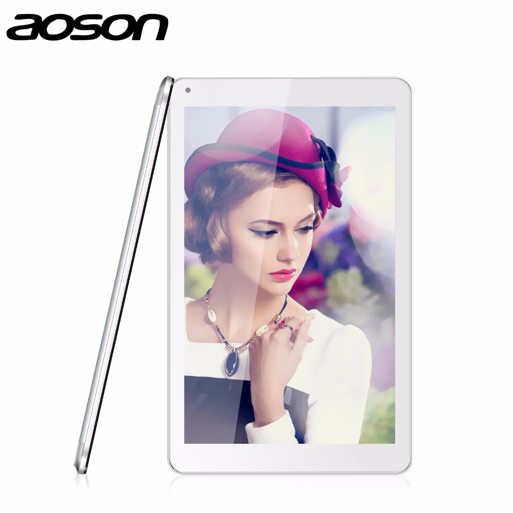 tablets 10 inch WiFi Tablet Android  PC Aoson M106NB Android 4.4 IPS Screen Quad Core MTK8217 1GB+8GB 2/5.0MP 6000mAh battery yuntab7 inch quad core q88 1 5ghz android 4 4 tablet pc q88 allwinner a33 512mb 8gb capacitive screen 1024x600 dual camera wifi