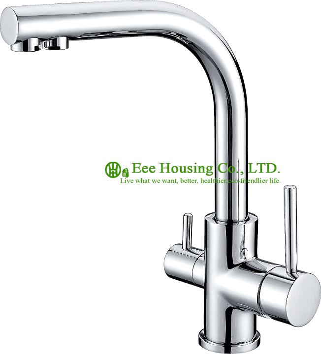 Free Shipping Brass Dual-function Sink Mixer,kitchen Faucet Chrome Finished,kitchen Accessories