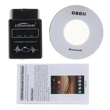 купить KONNWEI ELM327 V1.5 OBD2 Scanner PIC18f25k80 Chip ELM 327 OBD 2 Bluetooth Automotive Scanner escaner Car Auto Diagnostic Tool CC по цене 527.97 рублей