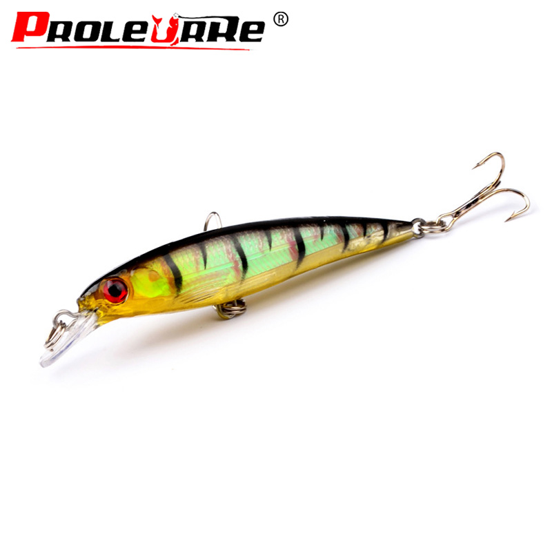 Proleurre 9cm 7.4g Minnow Fishing Lure Artificial Hard Bait Floating Fishing Wobbler Crankbait Japan Fishing Tackle Pesca