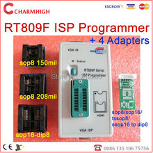 Free Shipping! VGA LCD USB programmer RT809F Serial ISP Programmer PC Repair 24-25-93 serise IC RTD2120 Better then EP1130B