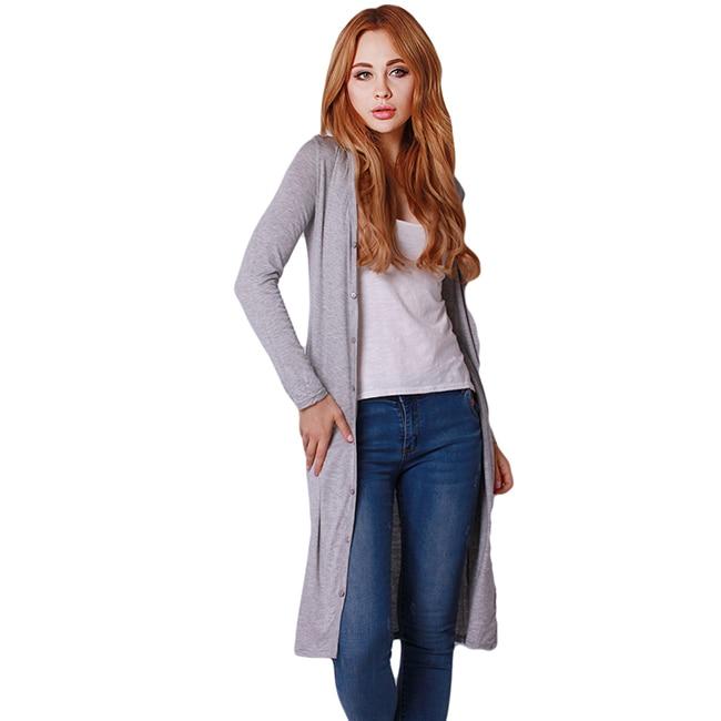 Casual Herbst Winter Lange Outwear Modal Frauen Langarm Strickjacke 6 Farben Mode Strickwaren Pullover Mantel JH661641