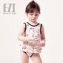 July Sand/; детский купальный костюм; одежда для купания для маленьких девочек; милый мягкий Цельный купальник с помпонами и кошечкой; 18G007