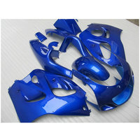 Personalize kit Carenagem apto para SUZUKI GSXR600 GSXR750 1996-2000 tudo azul carenagens GSXR conjunto 600 750 96 97 98 99 00 FF2