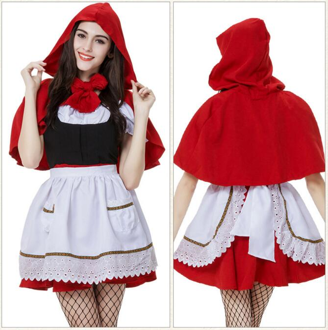 Aliexpresscom  Buy New Adult Kids Cape Little Red Riding Hood Cosplay Carnival Child -5109